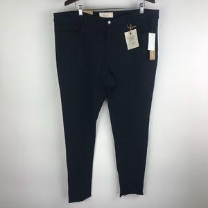 Rachel Roy curvy collection black skinny pants New